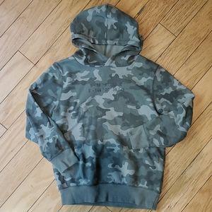 Cotton on boys camo hoodie sz 8 [425]
